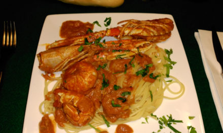 Luciano's Spaghetti with Crayfish
